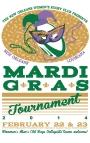 Mardi Gras Tourney Poster