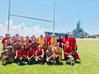 1st place B.R.I.T. Luau Sevens @ Battleship Memorial Park
